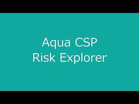 6  Aqua Risk Explorer