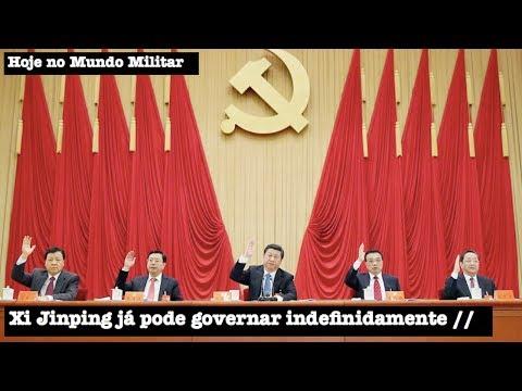 Xi Jinping já pode governar a China indefinidamente