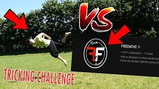 Toto je VÝZVA ! - Tricking challenge #1 - FREEMOVE vs Flying Emotions