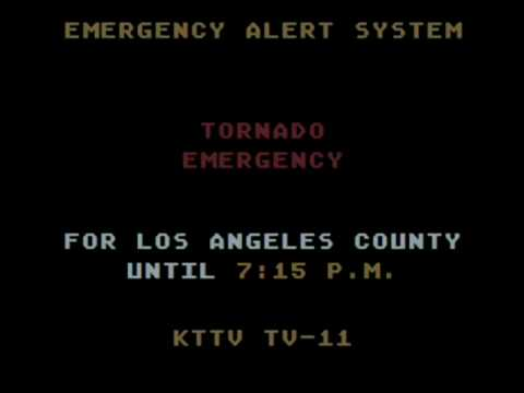 Los Angeles Tornado Emergency