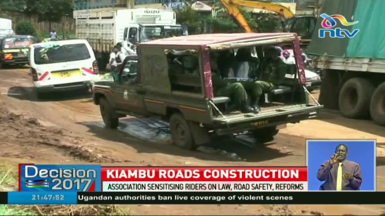 Download KeNHA in sh38 billion project of 114km of roads in Kiambu