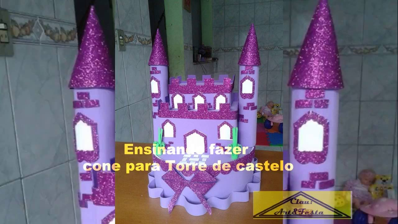 Como Fazer O Coni Do Castelo Passo A Passo Youtube