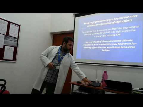 Yoking together yoga research, therapy & education by Dr Ananda Balayogi Bhavanani