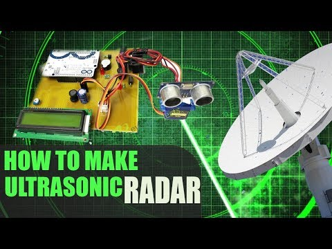 How to Make Arduino Sonar Radar Military Spying System With Ultrasonic Sensor