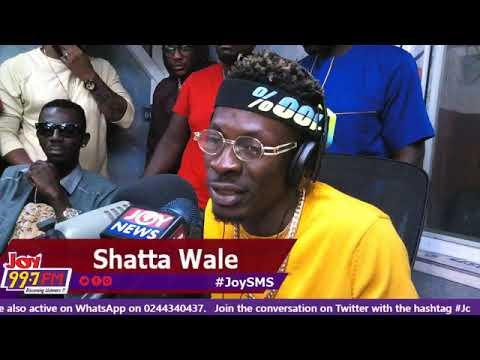 Shatta wale full interview on Joy fm 2018-26-10