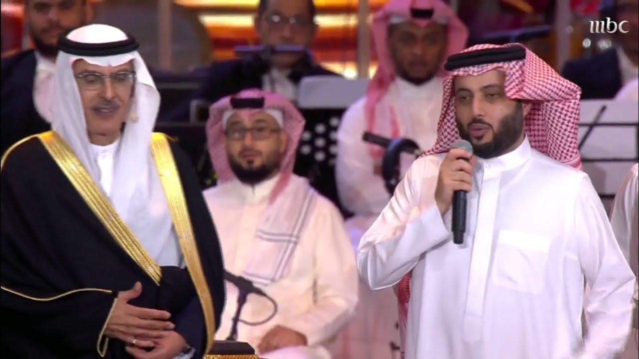 معالي المستشار تركي آل الشيخ يكرم الأمير بدر بن عبدالمحسن