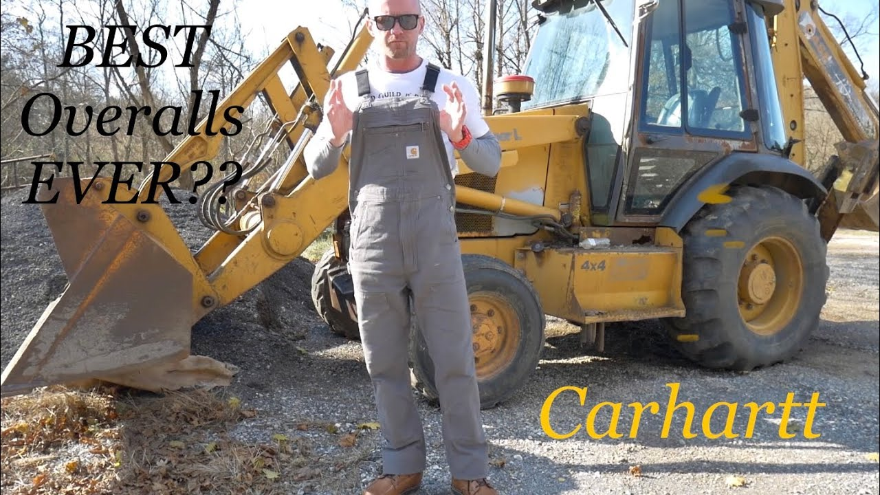 Carhartt Rigby Bib Overalls Dungarees Rugged Flex Carhartt Brown Brown 102776