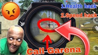 😭 Free fire 100% Hacker Speed hack  + Health Hack  Garena save all genuine players