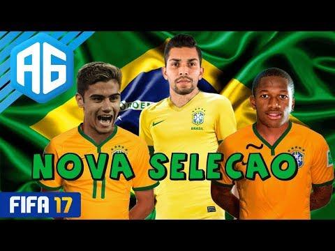 FIFA 17 MODO CARREIRA #77 FOI O MELHOR JOGO PELA SELEÇÃO? (Português-BR)