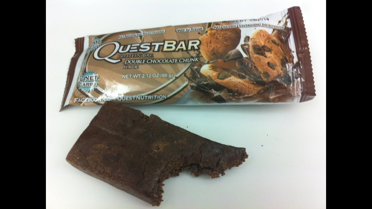 Quest Double Chocolate Chunk Protein Bar