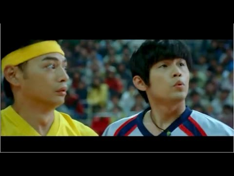 Kung Fu Dunk Fun Play Scene ( Jay Chou is so cute )