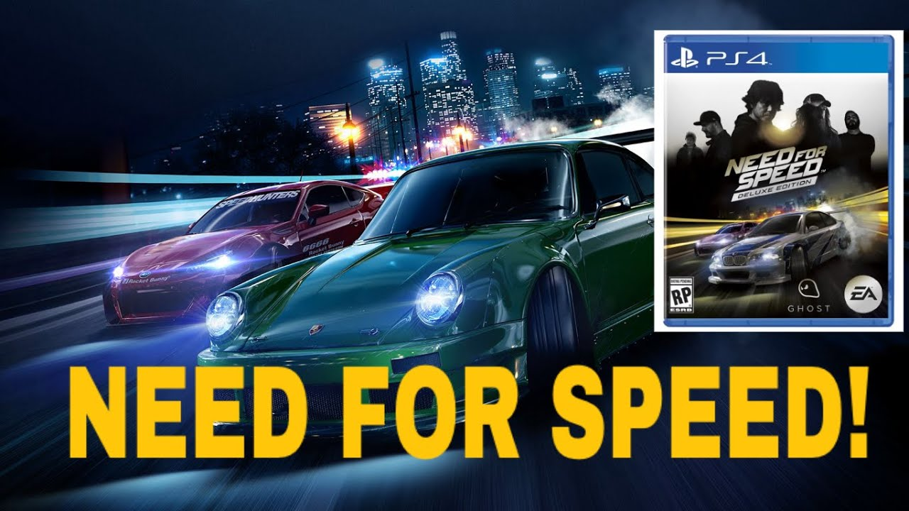 im pre ordering the new need for speed deluxe edition youtube. Black Bedroom Furniture Sets. Home Design Ideas