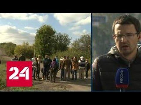 В Донбассе должен состоятся отвод войск от линии соприкосновения