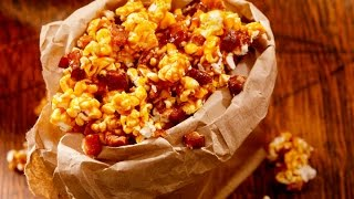 How To Make Bacon Caramel Popcorn