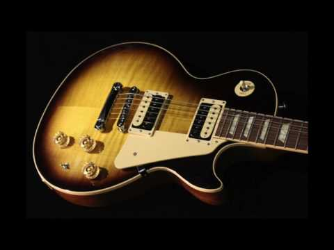 Hard rock backing track in A in the style of Foghat