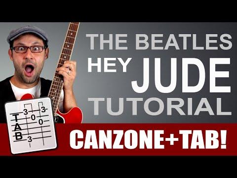 Hey Jude - The Beatles - Lezione chitarra + tab!