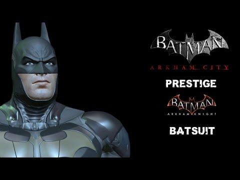 "SKIN; Batman; Arkham City; V8.05 Prestige ""240%"" Batsuit"