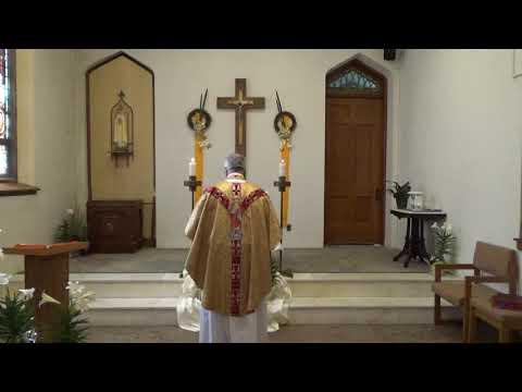 Mass At Holy Name Church