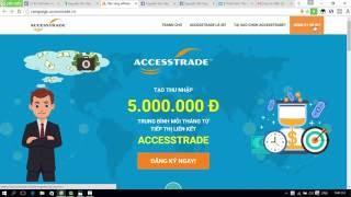 Bài 1 - Hướng dẫn đăng ký tài khoản Accesstrade