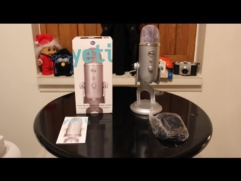 Blue Yeti Microphone Review + Unboxing and Full Demo