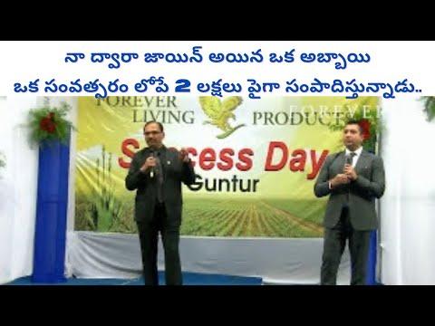 Motivation by Anand Gandhi at Guntur Success Day (TELUGU)