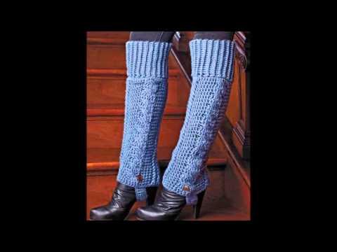 Вязание спицами для ног 21