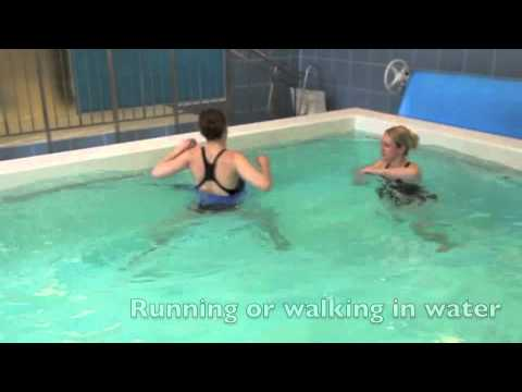 Hydrotherapy Exercises - Running in water