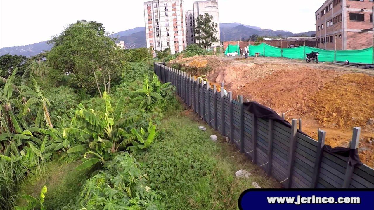 muros de contenci n autoportantes jerinco colegio itagu