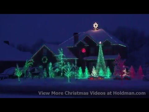 Crazy Christmas Lights - Crazy Christmas Lights - YouTube