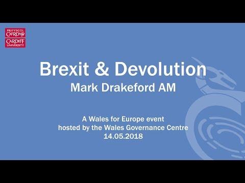 Brexit and Devolution - Mark Drakeford AM