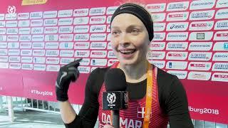 EM CROSS 2018: Guldvinder Anna Emilie Møller