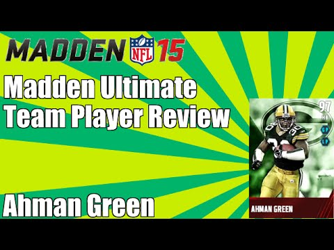 Madden 15 Ultimate Team Player Review   97 Overall Ahman Green   MUT 15 Player Review