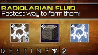 Destiny 2 | How to get Concentrated Radiolarian Fluid guide & tutorial! (Curse of Osiris)