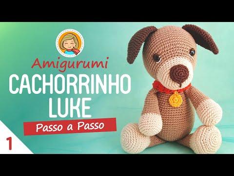 Amigurumi - Tiguinho, o Cachorrinho | Fazer croche, Amigurumi de ... | 360x480