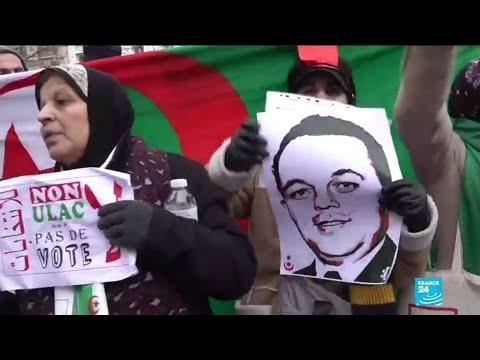 En France, les expatriés algériens s'opposent à la tenue de l'élection présidentielle en Algérie