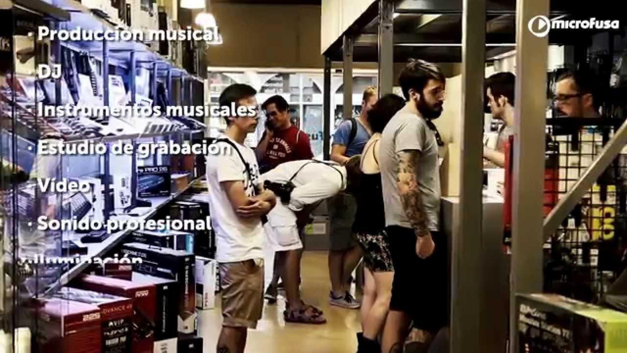 Microfusa tienda Barcelona - Todo en sonido, producción musical, DJ ...
