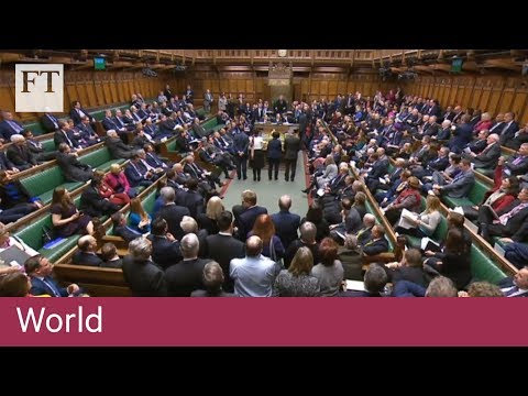 Theresa May suffers Commons defeat on Brexit plan B