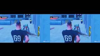 FORTNITE GLITCHES and FUN BUGS VRBOX PT2 Google CardBoard-SBS