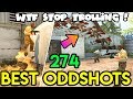WHEN YOUR TEAM is TROLLING - CS:GO BEST ODDSHOTS #274