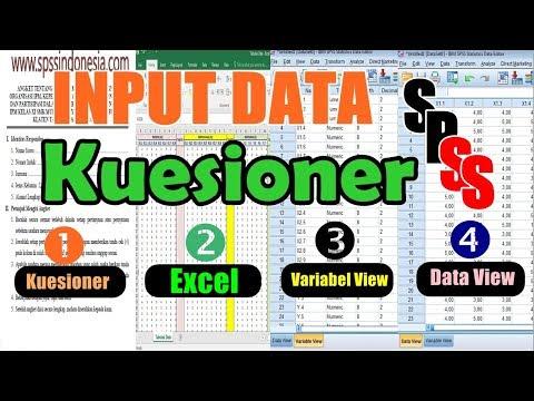 Cara Memasukkan Data Kuesioner Skala Likert di SPSS Lengkap.
