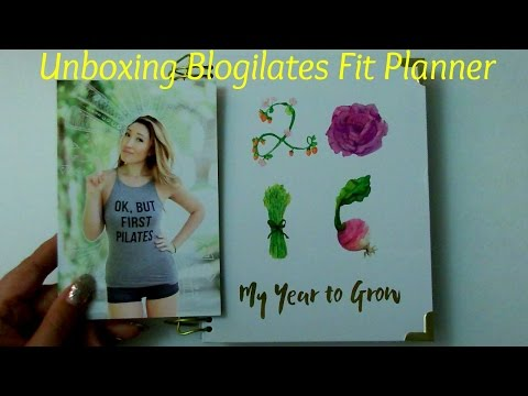 Unboxing Blogilates Fit Planner: Pros an Cons