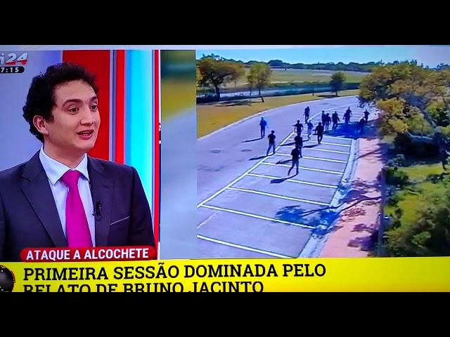 Alexandre Guerreiro TVI24 - 1ª Dia Julgamento Alcochete