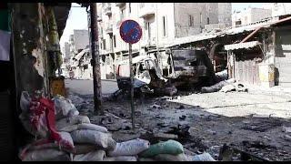 أخبار عربية   النظام السوري يستهدف #جوبر بالغازات السامة