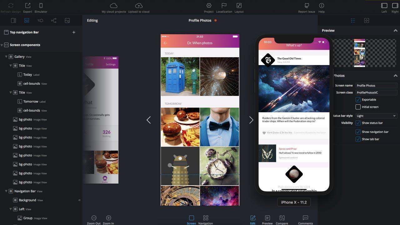 Supernova Studio - Convert Designs into Native Mobile Apps