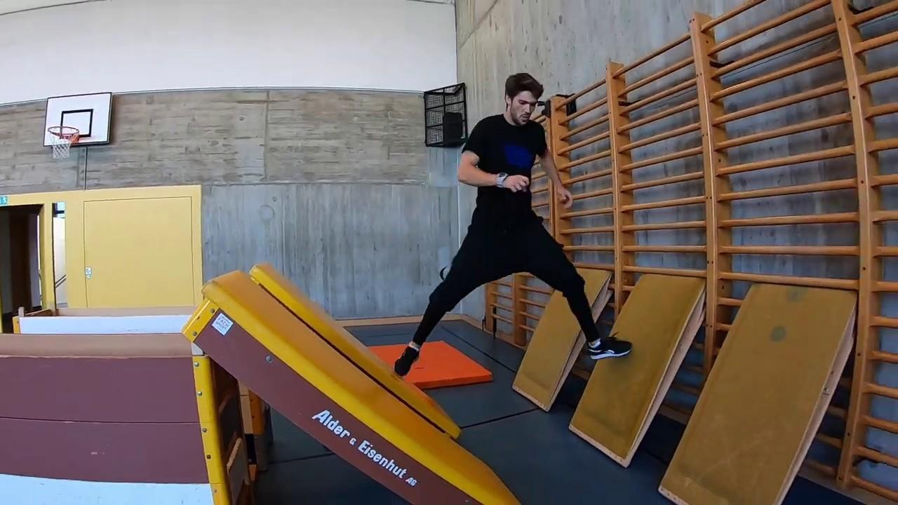 Ninja Stationen im Sportunterricht Making Of