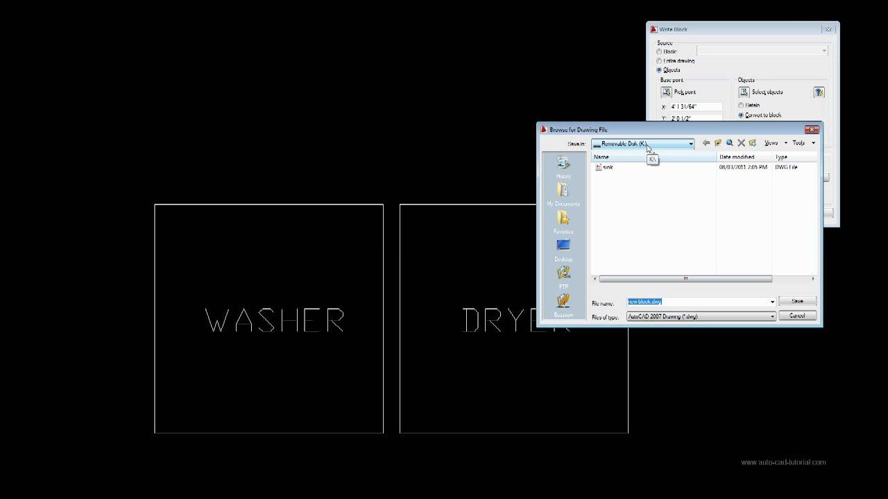 Write blocks to save them as separate files