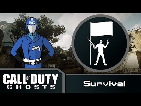 COD Ghosts - Safeguard Normal/Regular/Containment - More Infected! (20 Waves)