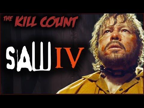Saw IV (2007) KILL COUNT