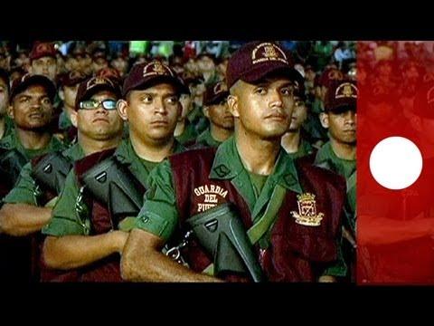 Venezuelan army enters crime fight; revolution orders toilet paper