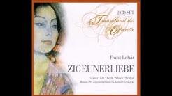 """Rudolf Schock in """"Zigeunerliebe"""" Lehár Hamburg 1953"""